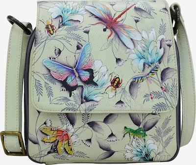 ANUSCHKA Umhängetasche Wondrous Wings aus handbemaltem Leder in mischfarben, Produktansicht