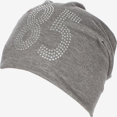 TALENCE Bonnet 'Koosh' en gris chiné, Vue avec produit