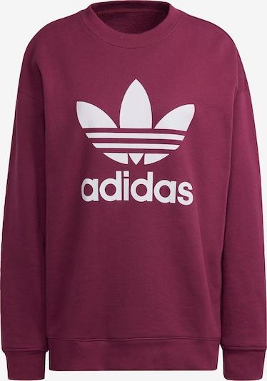 ADIDAS ORIGINALS Sweatshirt in rot, Produktansicht
