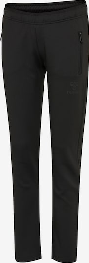 Hummel Poly Pants Woman in schwarz, Produktansicht