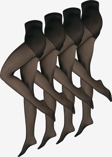 Nur Die Collant ' Wie eine zweite Haut ' en noir, Vue avec produit
