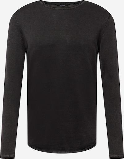 Only & Sons Trui 'Garson' in de kleur Zwart, Productweergave