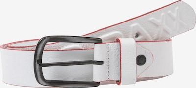 CIPO & BAXX Ledergürtel in weiß, Produktansicht