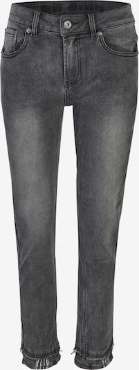 Blue Monkey Boyfriend Jeans Finja mit angesetztem Saum in grau, Produktansicht