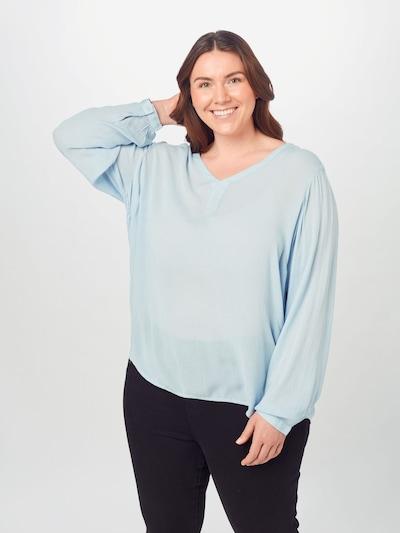 KAFFE CURVE Bluse 'Ami' in hellblau, Modelansicht