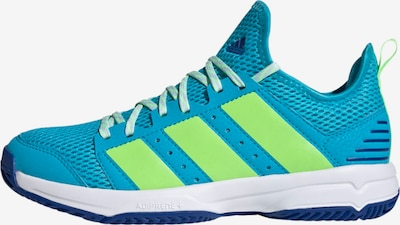 ADIDAS PERFORMANCE Sneaker in türkis / neongrün, Produktansicht