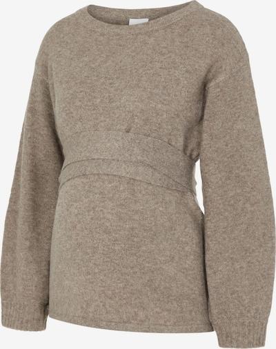 MAMALICIOUS Pullover 'Gro' in braun, Produktansicht