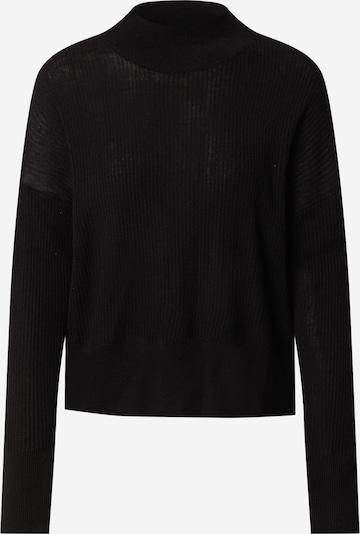 Pulover rosemunde pe negru, Vizualizare produs