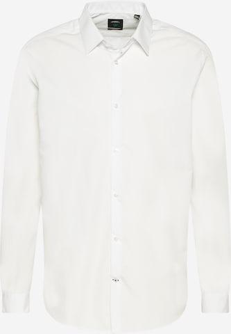 BURTON MENSWEAR LONDON Big & Tall Businesspaita värissä valkoinen