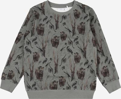 sötét barna / szürke NAME IT Tréning póló, Termék nézet