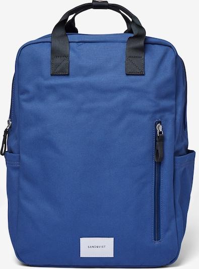 SANDQVIST Sac à dos 'KNUT' en bleu / noir, Vue avec produit