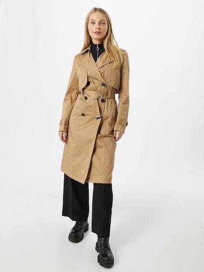 Palton de primăvară-toamnă Maison 123 pe coniac, Vizualizare model