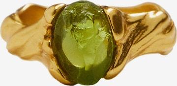 MANGO Ring 'Piccola' i gull