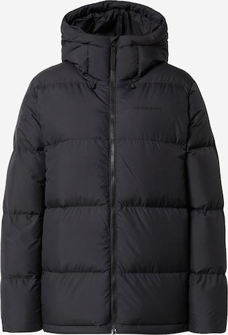 PEAK PERFORMANCE Athletic Jacket in Black