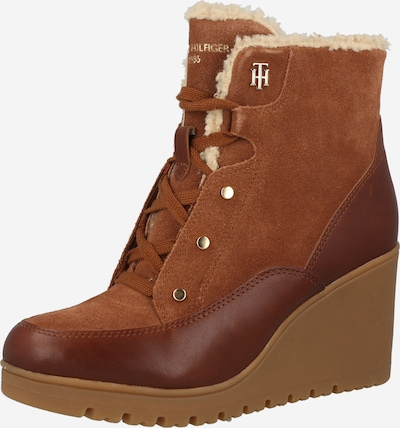TOMMY HILFIGER Lace-Up Ankle Boots in Brown / Cognac, Item view