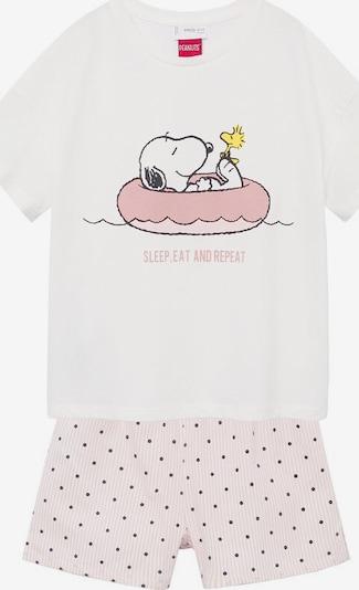 Pijamale 'Snoopy' MANGO KIDS pe mai multe culori / roz / alb, Vizualizare produs