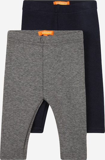 STACCATO Trousers in Dark blue / mottled grey, Item view