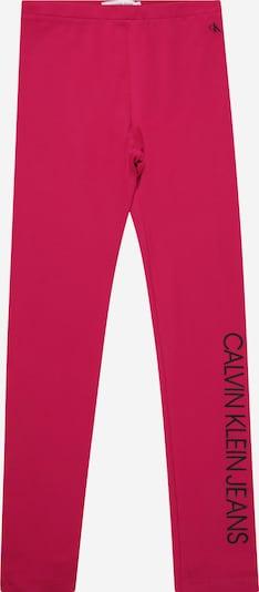 Calvin Klein Jeans Leggings en magenta / noir, Vue avec produit