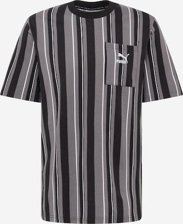 PUMA Shirt 'Glitch' in Schwarz