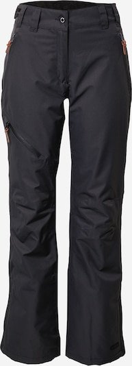 ICEPEAK Outdoor trousers 'Curlew' in Anthracite, Item view