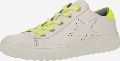 LURCHI Sneakers in de kleur Neongeel / Wit, Productweergave