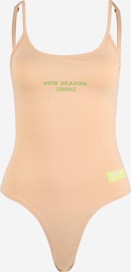 Public Desire Lingerie body in de kleur Nude / Lichtgroen, Productweergave