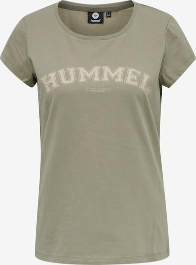 Hummel T-Shirt 'Cyrus' in beige / grün, Produktansicht