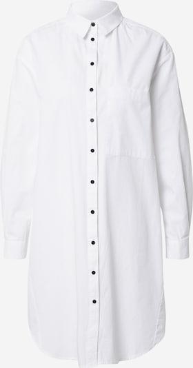 Bluză 'Vivian LS Midi Oversize Shirt' Esmé Studios pe alb, Vizualizare produs