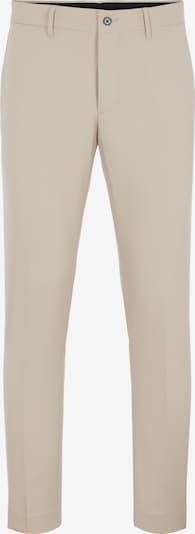 Kelnės su kantu 'Grant' iš J.Lindeberg, spalva – smėlio spalva, Prekių apžvalga