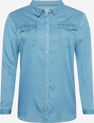 Z-One Bluse 'Florentina' in Blau