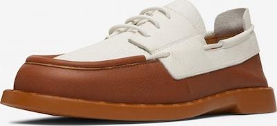 CAMPER Chaussure à lacets 'Juddie' en marron / blanc, Vue avec produit