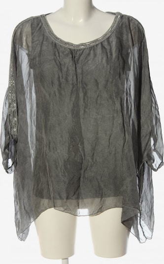 Sa.Hara Oversized Bluse in S in hellgrau, Produktansicht