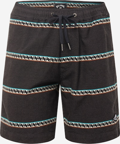 Pantaloni 'Larry' BILLABONG pe verde jad / roșu / negru / alb, Vizualizare produs