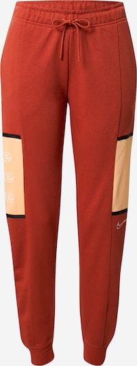 Nike Sportswear Hose in orange / schwarz, Produktansicht
