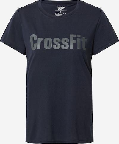 REEBOK T-shirt fonctionnel en bleu nuit, Vue avec produit