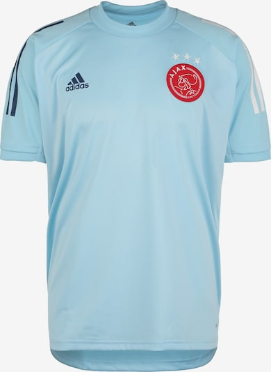 ADIDAS PERFORMANCE Fußballtrikot 'Ajax Amsterdam' in hellblau / rot / schwarz / weiß, Produktansicht