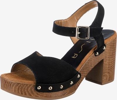 UNISA Sandalette 'Taco' in schwarz, Produktansicht