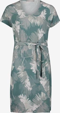 Betty & Co Jerseykleid mit V-Ausschnitt in Grün