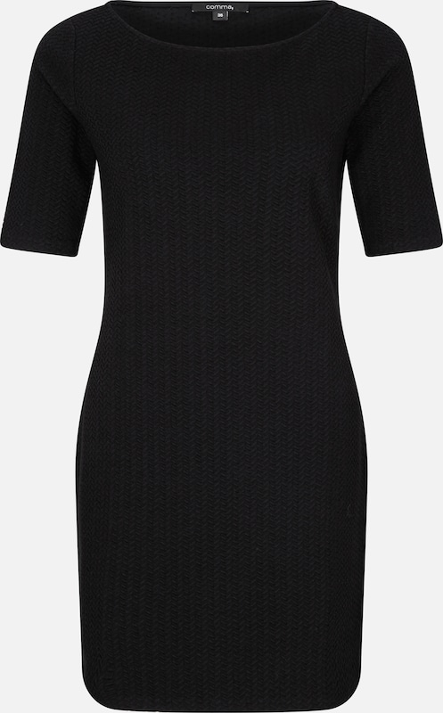 COMMA T-Shirt-Dress in schwarz, Produktansicht