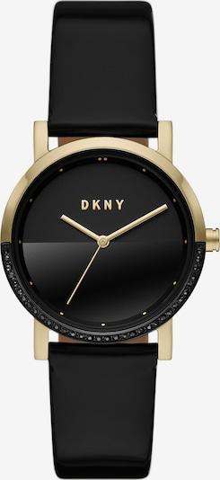 DKNY Uhr in gold / schwarz, Produktansicht