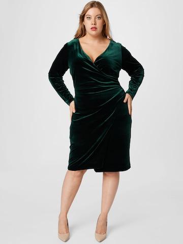 Lauren Ralph Lauren Kokteilové šaty 'TORELANA' - Želená