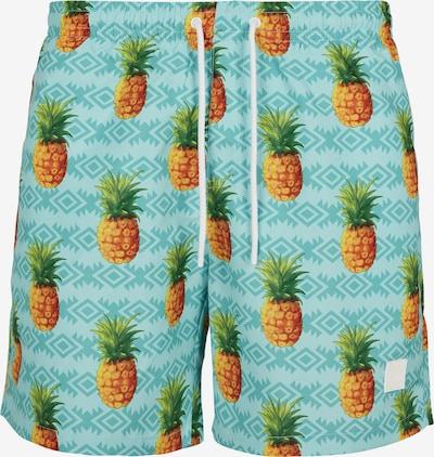 Urban Classics Plavecké šortky - tyrkysová / vodová / okrová / zlatá žltá / zelená, Produkt