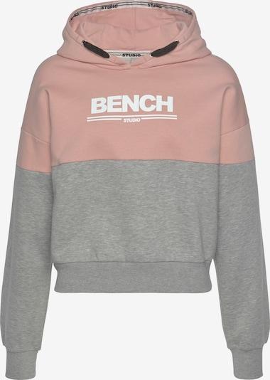 BENCH Sweatshirt in Dusky pink / White, Item view