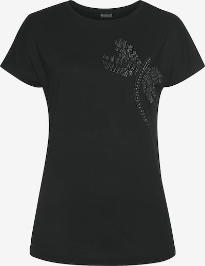 LAURA SCOTT T-Shirt in schwarz / silber, Produktansicht