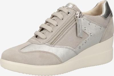 GEOX Sneaker in grau / silber, Produktansicht