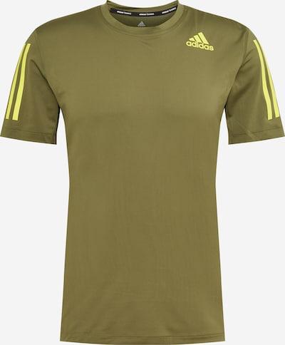 ADIDAS PERFORMANCE Camiseta funcional en amarillo / oliva, Vista del producto