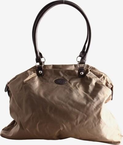 Tchibo Reisetasche in One Size in braun / wollweiß, Produktansicht