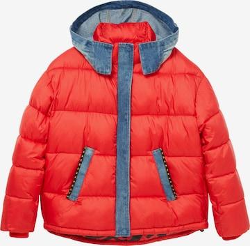 DesigualPrijelazna jakna 'AUSTEN' - crvena boja