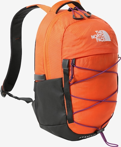 THE NORTH FACE Sac à dos 'Borealis' en orange / noir / blanc, Vue avec produit