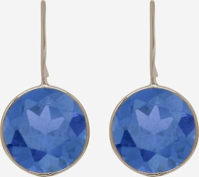 Gemshine Boucles d'oreilles en bleu / argent, Vue avec produit